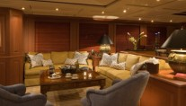 Yacht ATLANTICA -  Salon Port Side